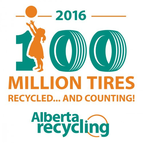 catra canadian association  tire recycling agencies albertans recycle  million tires